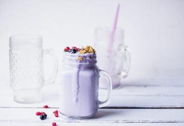 Cách làm sinh tố khoai môn béo thơm