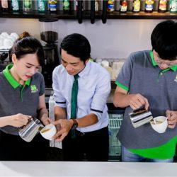 barista nghệ nhân cafe
