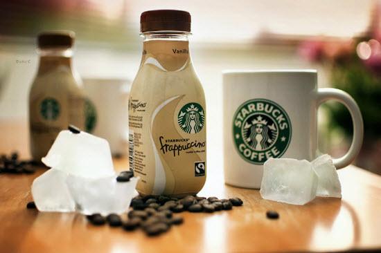 cà phê frappuccino đóng chai