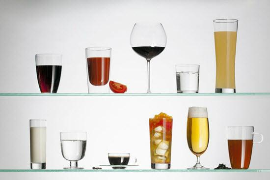 chọn ly phù hợp với thức uống