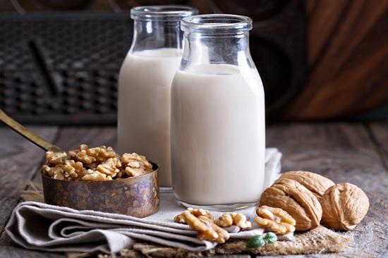 gạo lứt chế biến thành sữa
