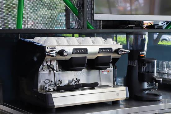 hệ thống máy pha cafe