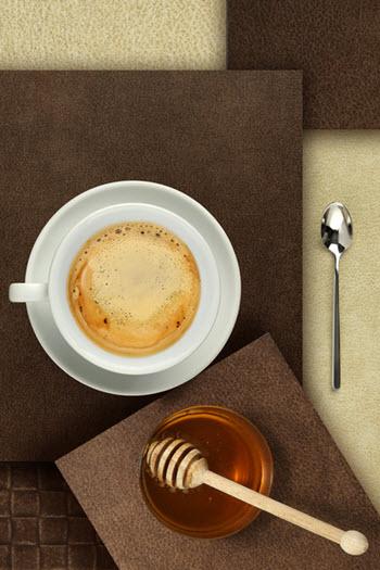 hình cà phê mật ong