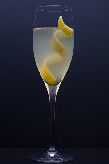 hình cocktail french 75