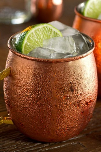 hình cocktail moscow mule