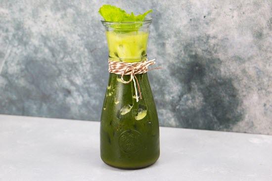 hình rau má đậu xanh nước dừa