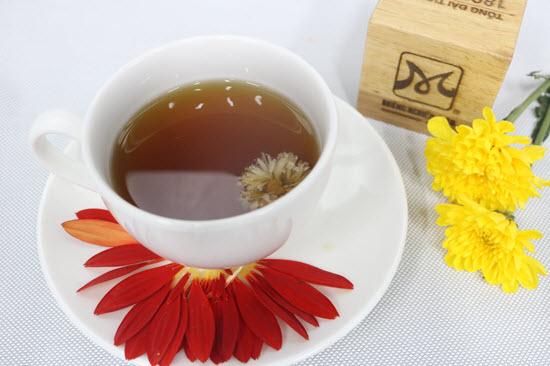 hình trà hoa cúc