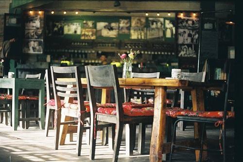 mô hình quán cafe hiện đại