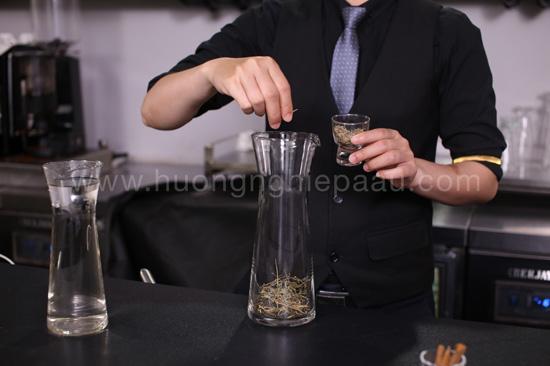nguyên liệu làm trà thảo mộc