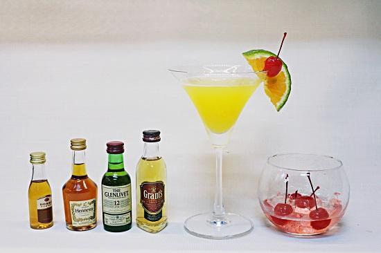 nguyên liệu pha chế cocktail