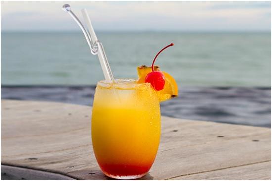 Ombré Grapefruit Mocktail
