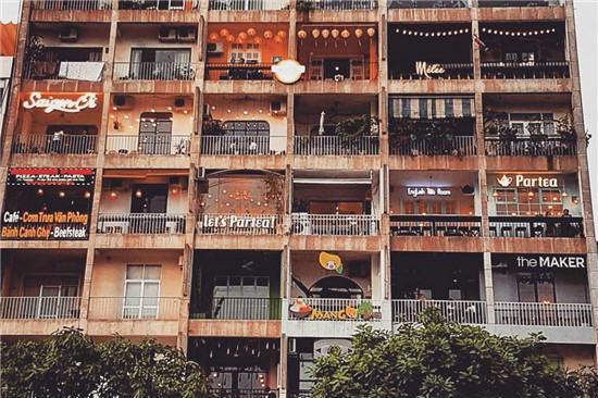 quán cà phê chung cư