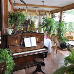 quán cafe nhạc cụ