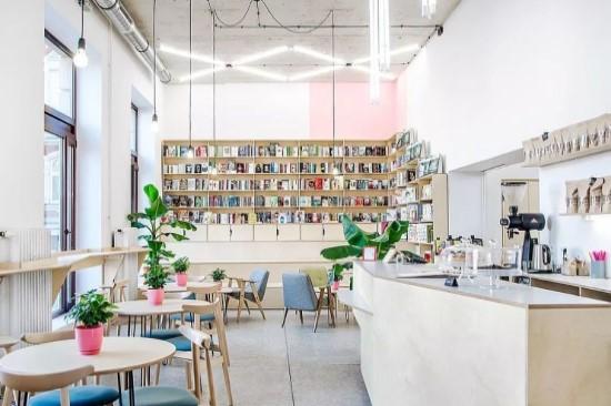 kinh doanh quán cafe sách