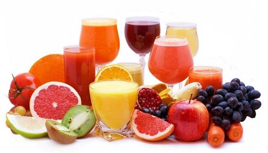 tạo màu từ trái cây