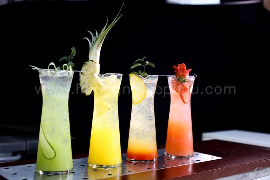 thành phẩm đồ uống của học viên