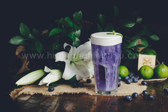 thành phẩm trà hoa đậu biếc