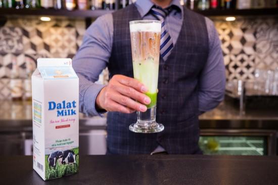 thức uống ngon pha chế từ sữa
