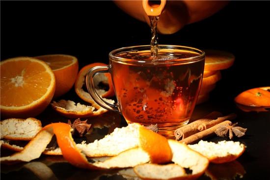 trà cam quế mật ong