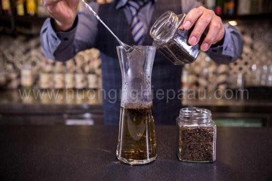 ủ trà không bị đắng