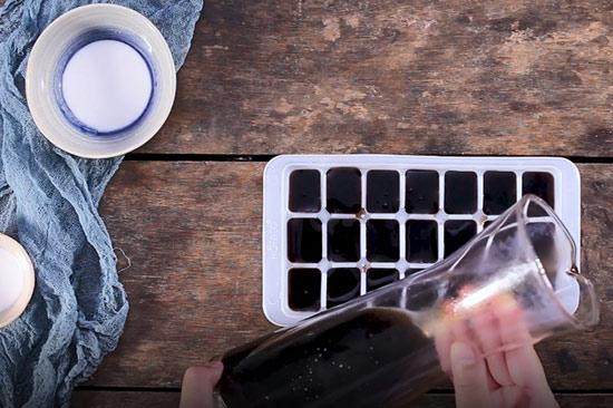 cách làm sương sáo nước cốt dừa