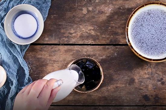 hướng dẫn cách làm sương sáo nước dừa