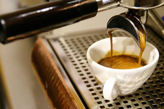 shot cafe espresso
